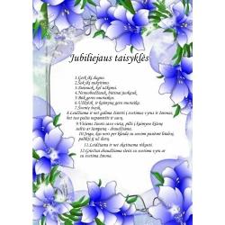 Jubiliejaus taisyklės