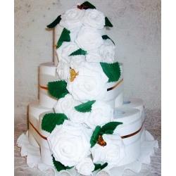 Tualetinio popieriaus tortas